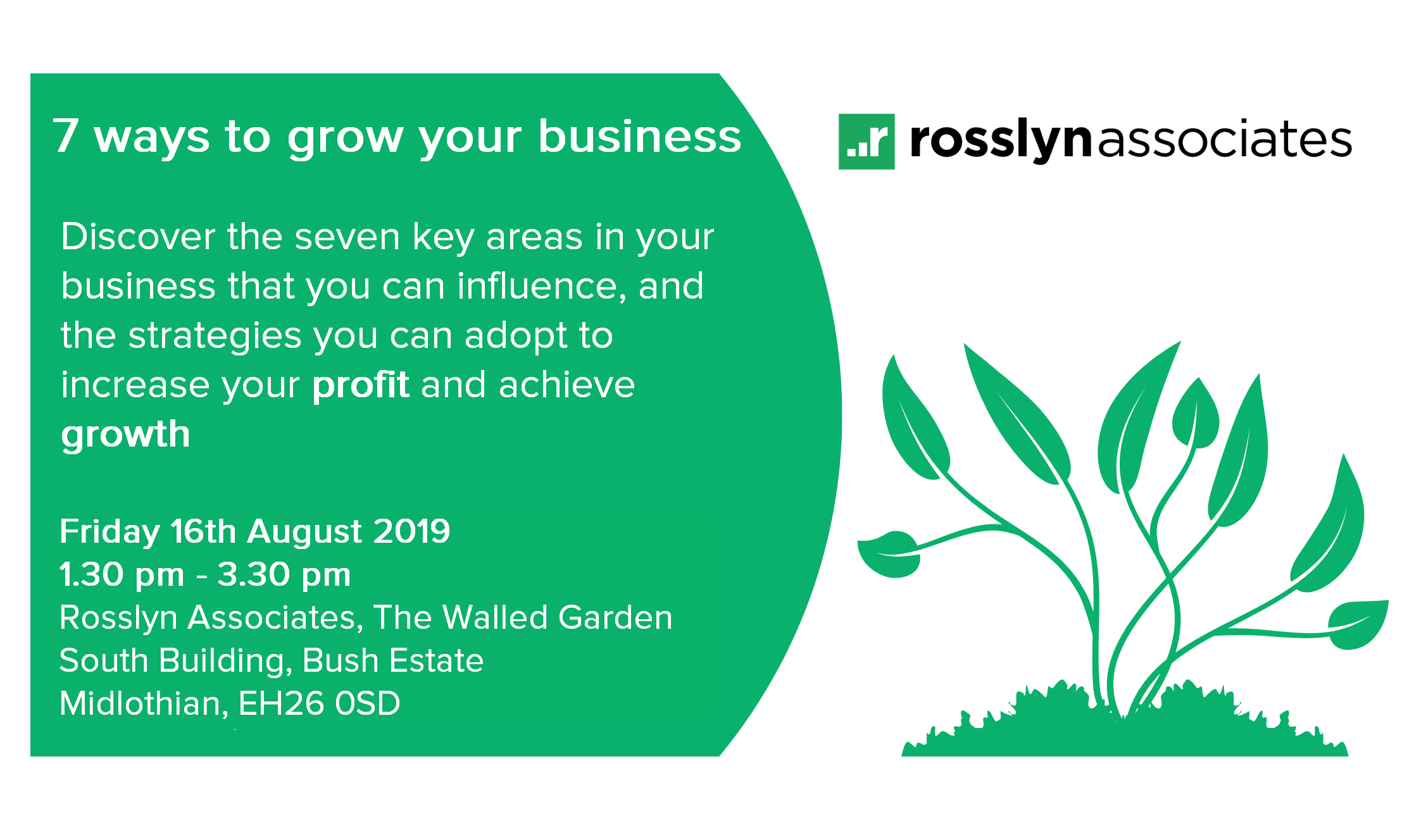 SEMINAR: 7 Ways To Grow Your Business