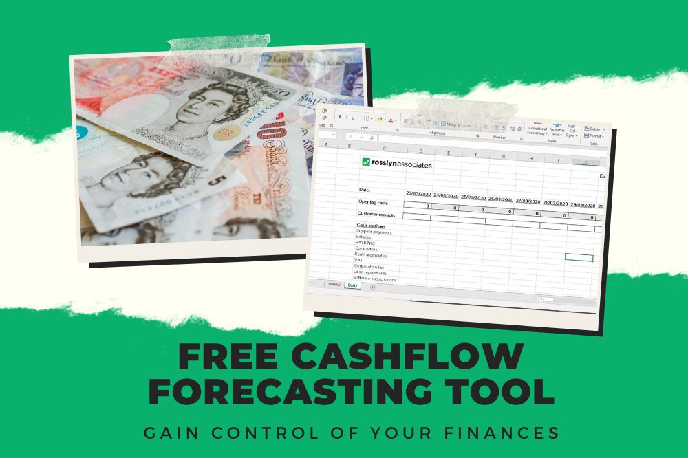 Cashflow forecasting tool to keep you in control