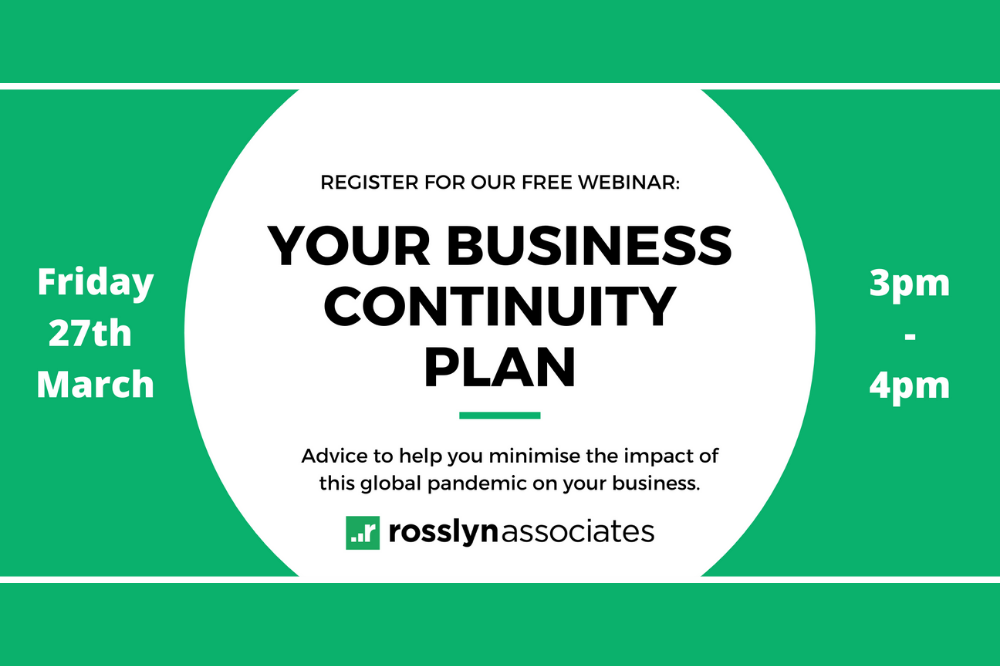 WEBINAR: Your business continuity plan