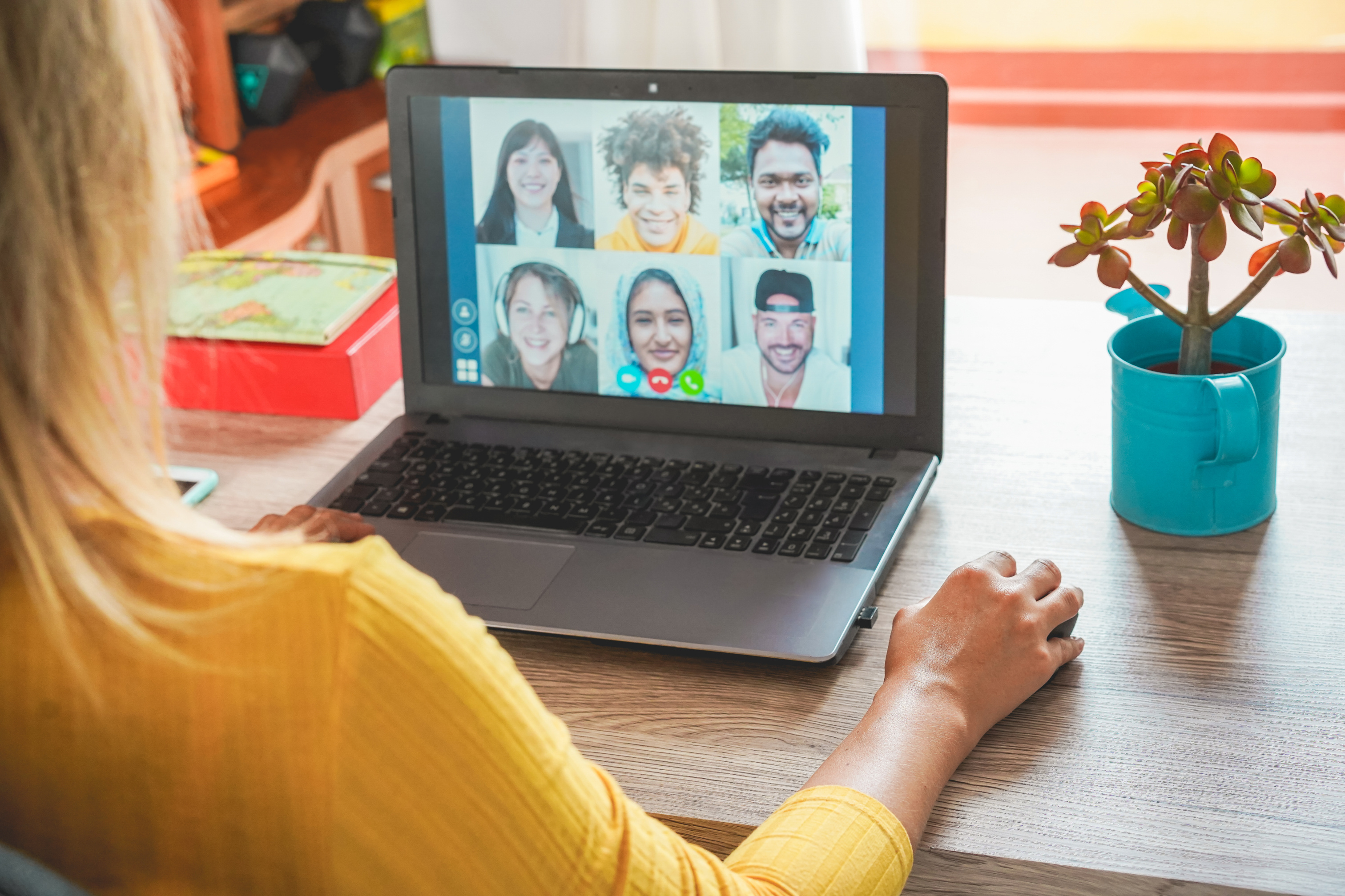 Virtual team social ideas to stay connected