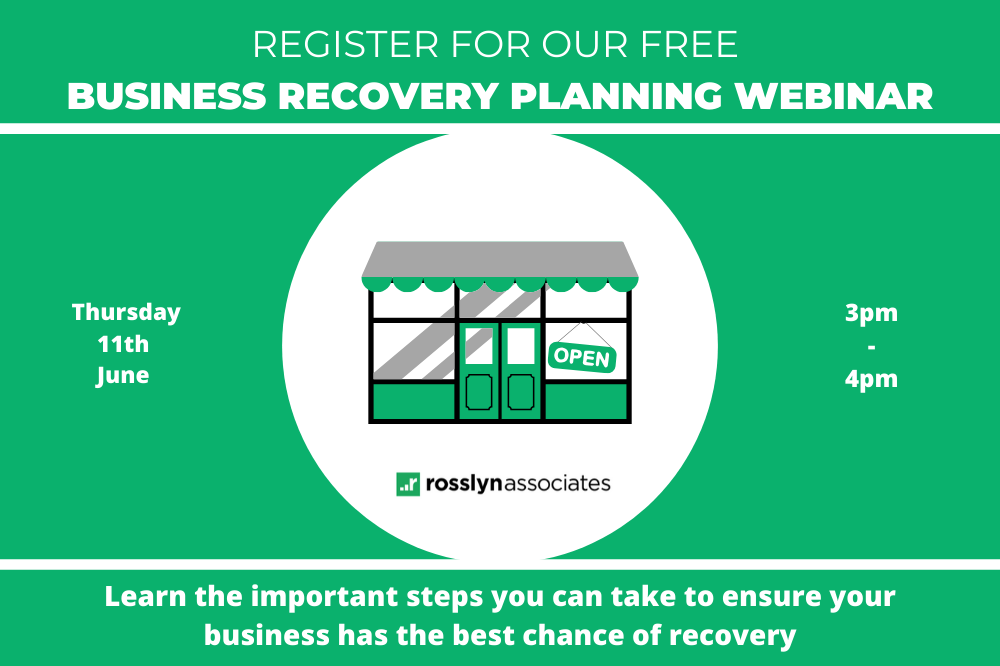 Register For Our Free Business Recovery Planning Webinar