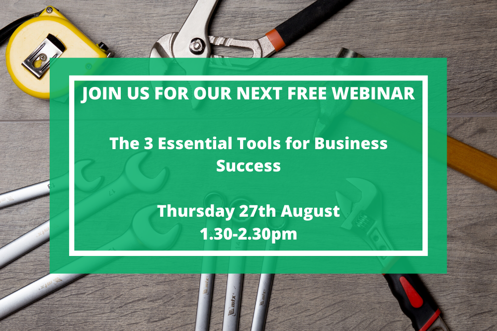 WEBINAR: The 3 Essential Tools For Business Success