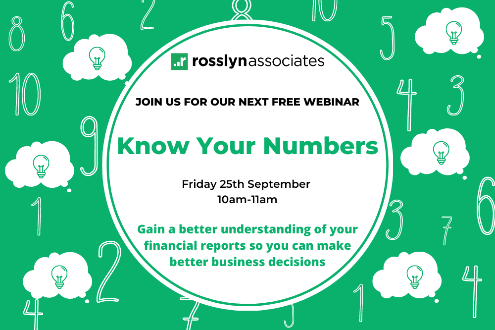 WEBINAR 25.09.2020: Know Your Numbers