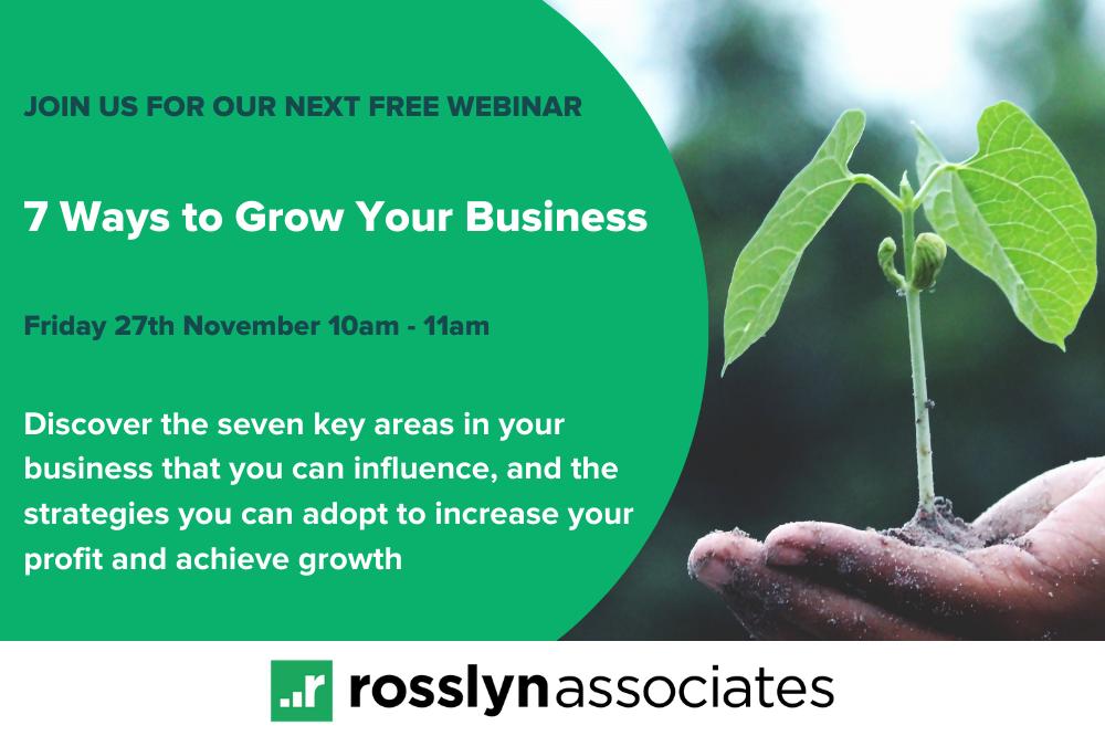 WEBINAR: 7 Ways to Grow Your Business