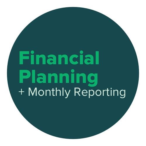 financial planning and monthly reporting