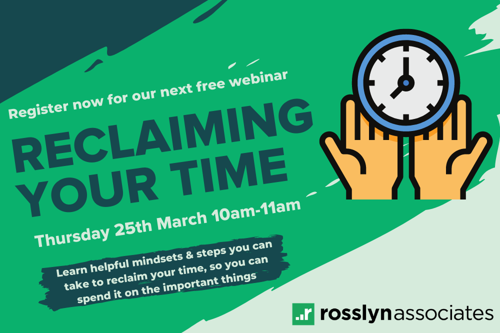 Reclaiming your time – blog image